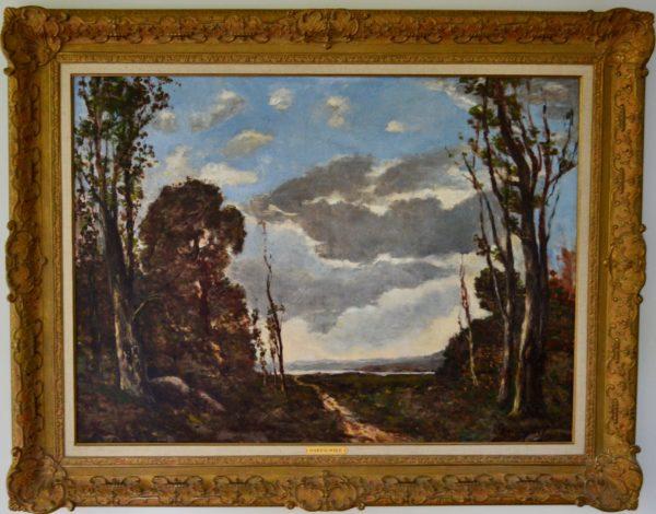 Chemin Dans la Foret by Harpignies