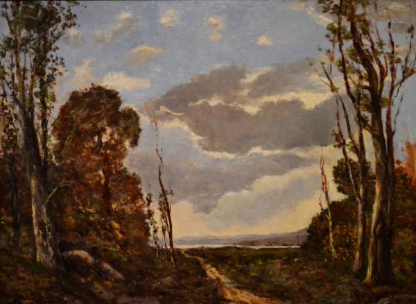 Chemin Dans la Foret by HENRI-JOSEPH HARPIGNIES