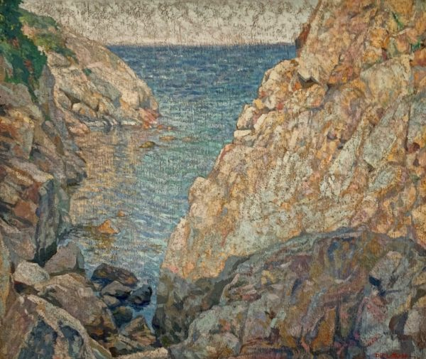 Sunlit Cove by Dorothy Pulis Lathrop