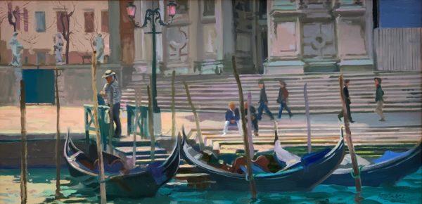 Gondolas by William Woodward