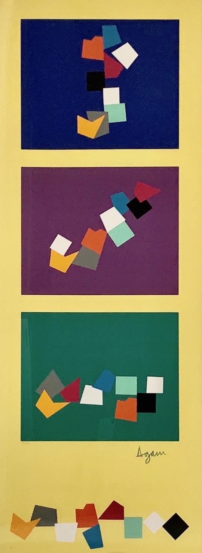 Untitled (Vertical) by Yaacov Agam