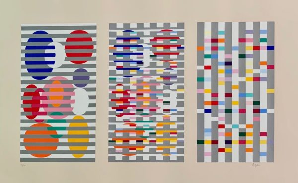 Untitled by Yaacov Agam