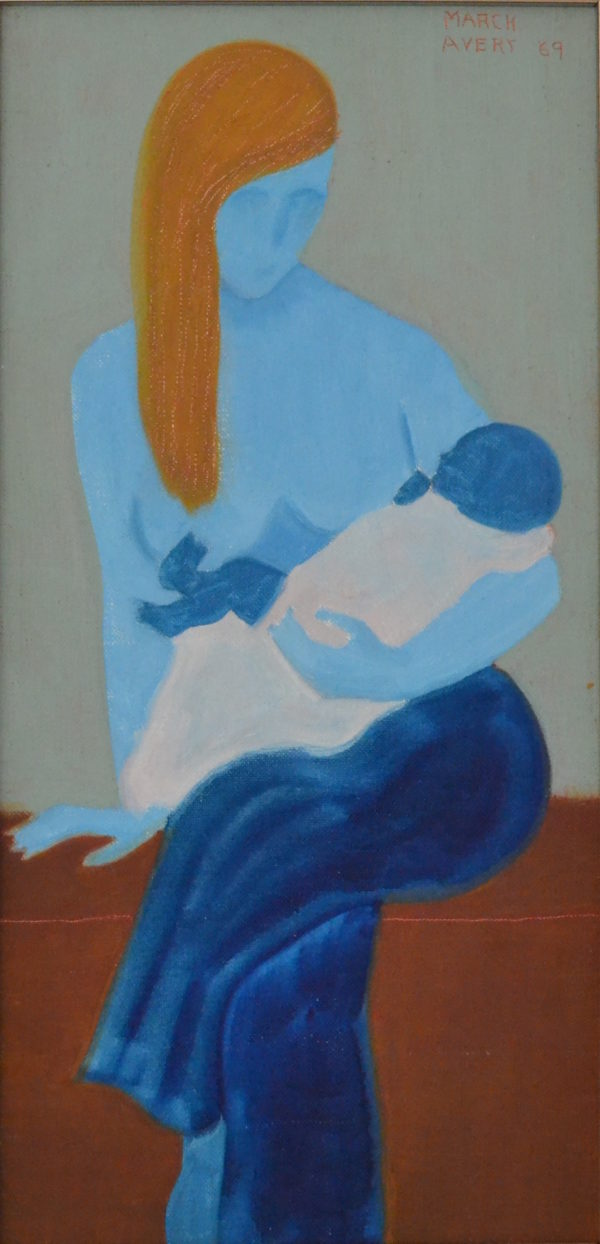 Mother and Child by March Avery