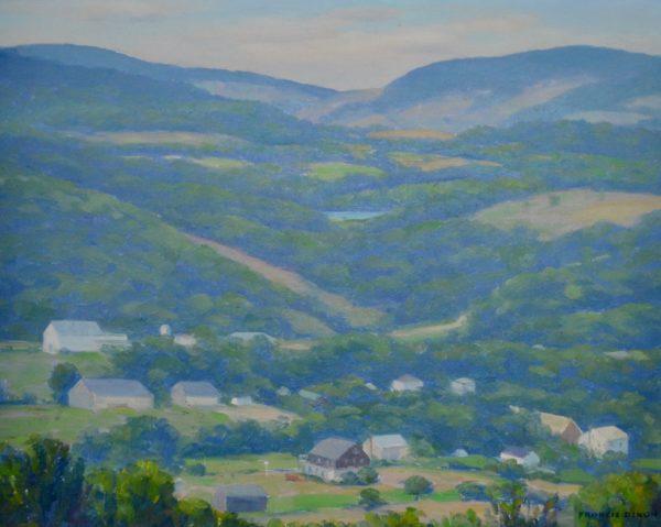 Village Landscape by Francis Stilwell Dixon