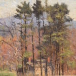 House Among the Pines by Jospeh Eliot Enneking