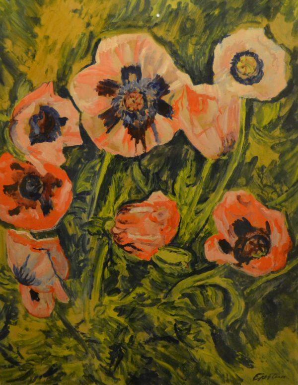 Poppies by Sir Jacob Epstein