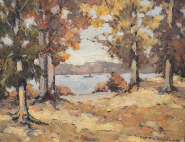 New England River View by Walter Farndon