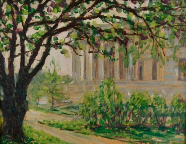 Lyman Allyn Art Museum by Harry Leslie hoffman