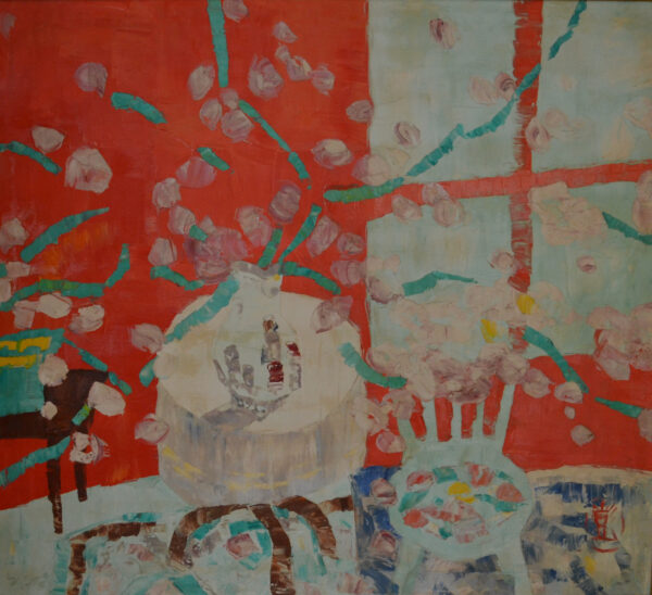 Interior with Flowers, 1966 by Jen Pang