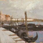 Venetian Scene by Luigi Loir