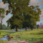 Meadows Near Hartford by James Goodwin McManus