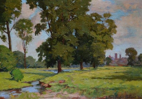 Meadows Near Hartford by James Goodwin McManus