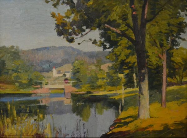 The Inner Cove, Hamburg, Connecticut, 1926 by James Goodwin McManus