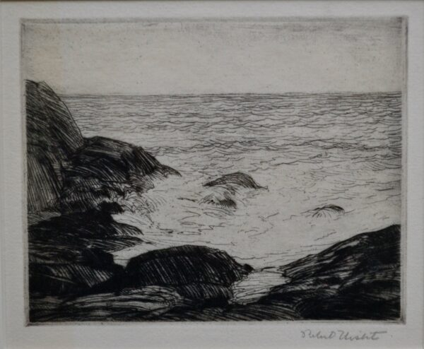 Coastal View by Robert Hogg Nisbet