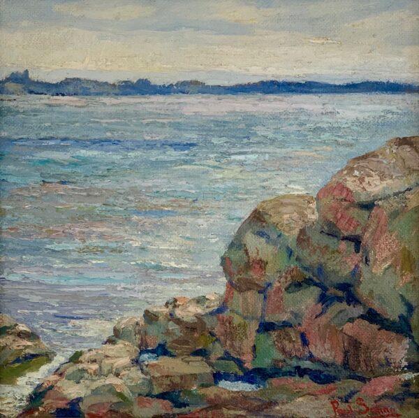 Coastal View by Paul E. Saling