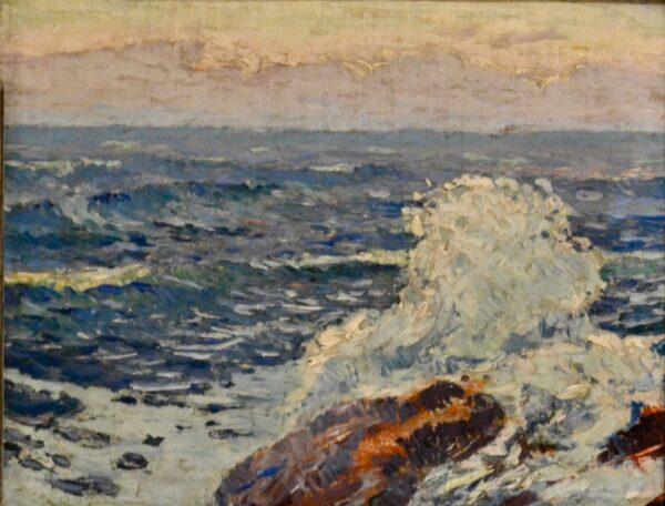 Crashing Wave by Sigurd Skou