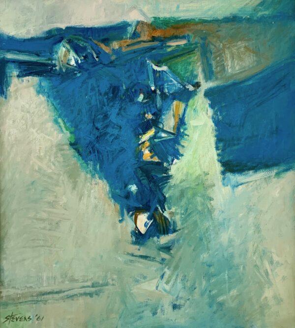 Fissure II, 1961 by Walter Hollis Stevens