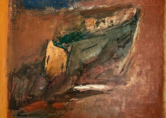 Mountain Rock, 1962 by Carl Sublett