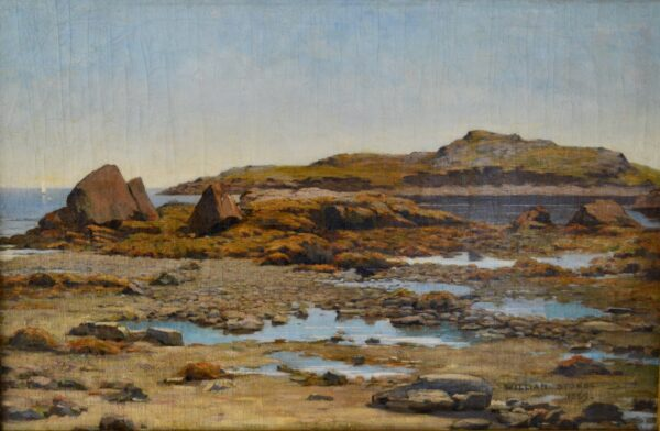 Low Tide, Marblehead, 1889 by William Stone