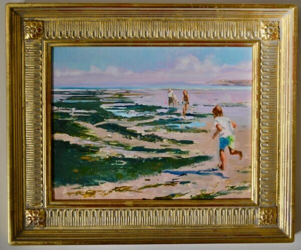 Low Tide, St. Anne, 2000 by William Woodward