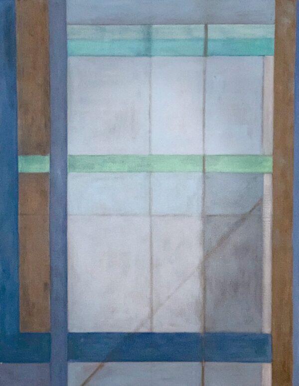 Jean Meisel, Ode to Diebenkorn, 1987