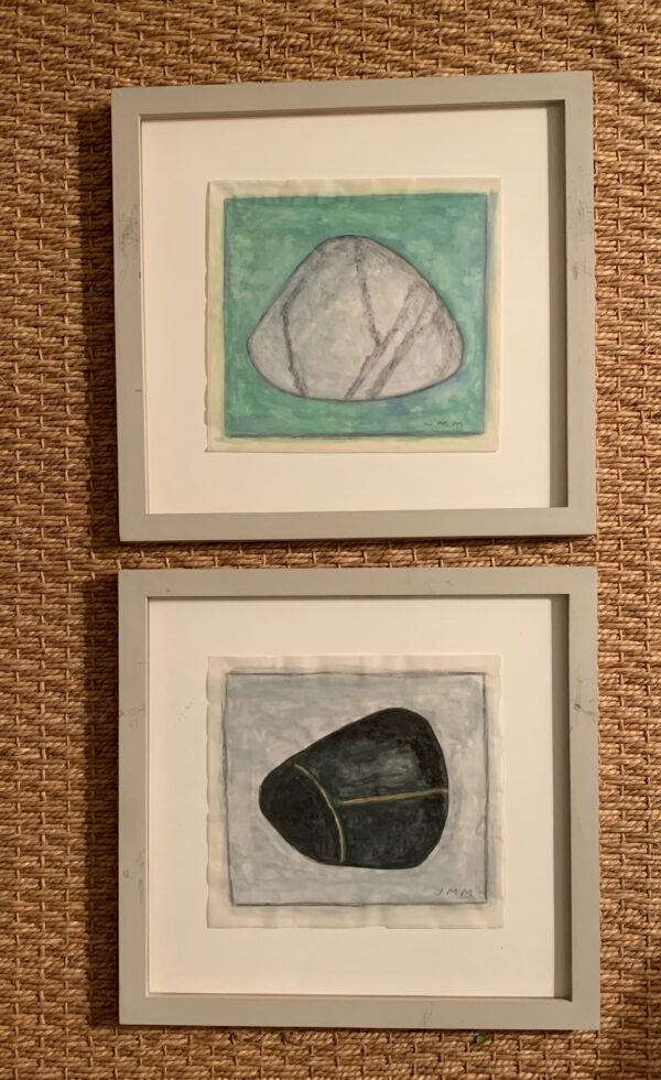 Jean Meisel, Framed images of Shell, Green and Shell, Black (sold separately)