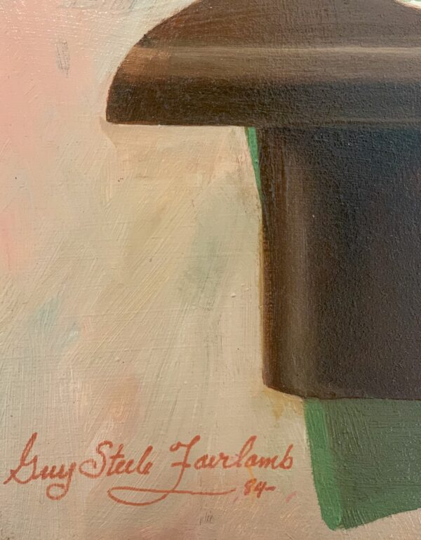 """Guy Steele Fairlamb, Detail """"Lace, Lace, Lace"""" 1984"""