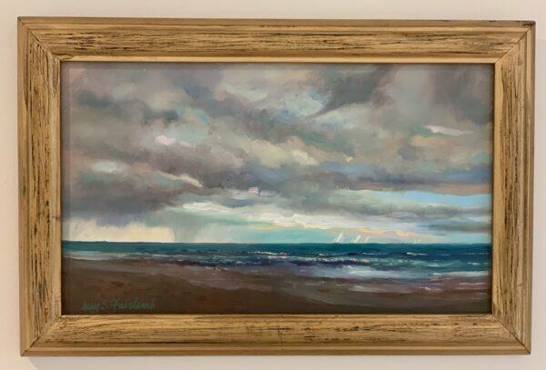 Guy Steele Fairlamb, Seascape with Storm