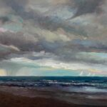 Guy Steele Fairlamb, Seascape with StormGuy Steele Fairlamb, Blue Ridge