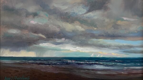 Guy Steele Fairlamb, Seascape with StormGuy Steele Fairlamb, Blue Ridge