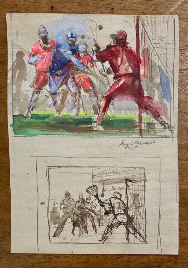 "Guy Fairlamb, ""Shot on Goal"""