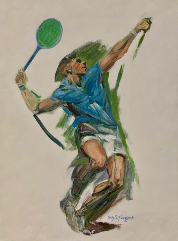 Guy Steele Fairlamb, Tennis: Going for the Ace