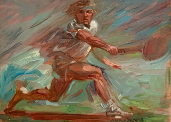 """Guy Steele Fairlamb, """"Tennis: Going for the Shot"""""""