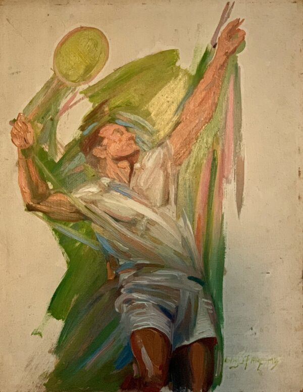 Guy Steele Fairlamb, Tennis: Serving to Win