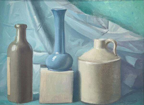 """Guy Steele Fairlamb, """"Still Life with Vase"""""""