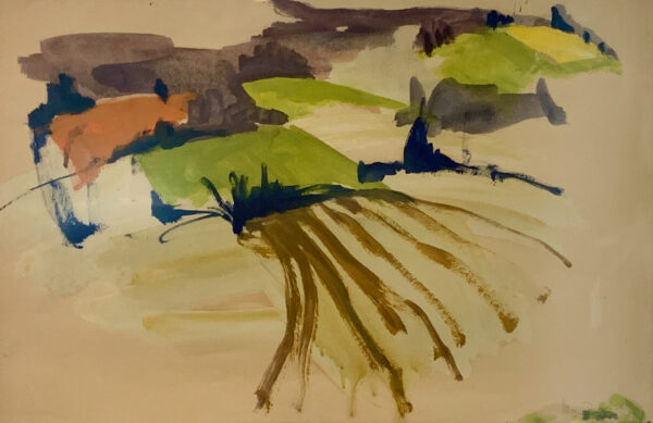"""Mary Page Evans, """"Fields"""" 1971"""