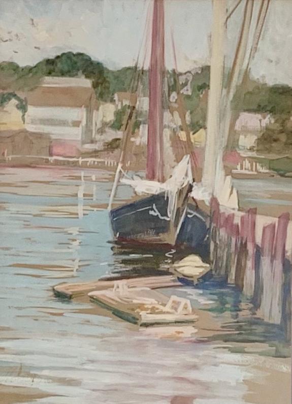 Ida Holterhoff Holloway, Harbor Scene