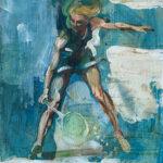 Guy Fairlamb, Tennis: Backhand
